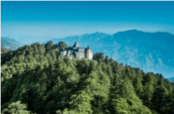 Wildflower Hall Shimla - Shimla, India (2.434 meter)