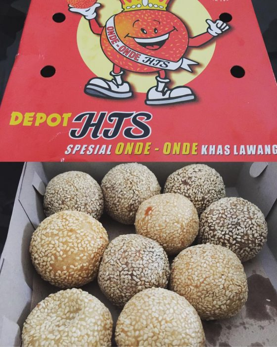 Onde-onde HTS khas Malang, Image By IG : @irmach9326